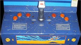 Arcade Control Panel for Buck Rogers: Planet of Zoom.