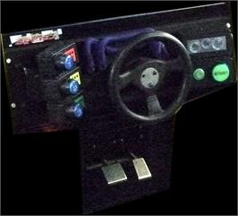 Arcade Control Panel for California Speed.