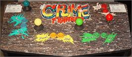 Arcade Control Panel for Crime Fighters.