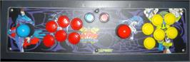 Arcade Control Panel for Darkstalkers: The Night Warriors.