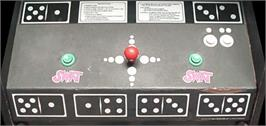 Arcade Control Panel for Domino Man.