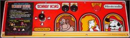 Arcade Control Panel for Donkey Kong.