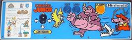 Arcade Control Panel for Donkey Kong Jr..
