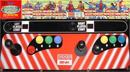 Arcade Control Panel for Double Dragon.