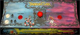 Arcade Control Panel for Dragon's Lair.