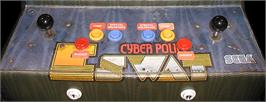 Arcade Control Panel for E-Swat - Cyber Police.