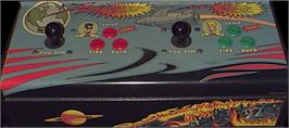 Arcade Control Panel for Escape from the Planet of the Robot Monsters.