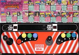 Arcade Control Panel for Fighters Swords.