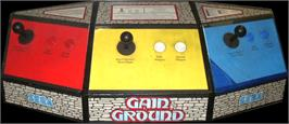 Arcade Control Panel for Gain Ground.