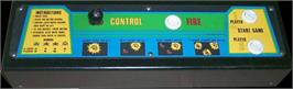 Arcade Control Panel for Galaxian Test ROM.