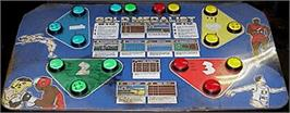 Arcade Control Panel for Gold Medalist.