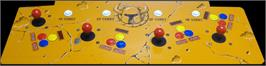 Arcade Control Panel for Golden Axe: The Revenge of Death Adder.