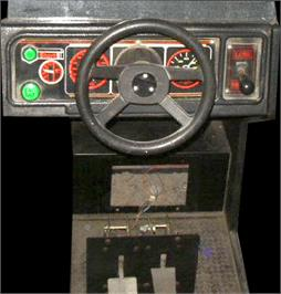 Arcade Control Panel for Grand Prix Star.
