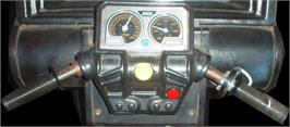 Arcade Control Panel for Hang-On.