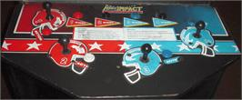 Arcade Control Panel for High Impact Football.