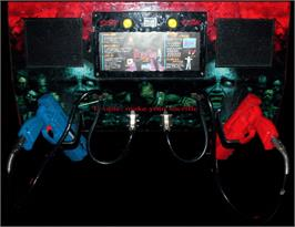 Arcade Control Panel for House of the Dead 2.