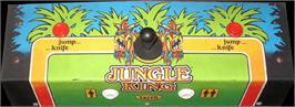 Arcade Control Panel for Jungle Hunt.