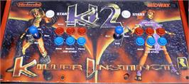 Arcade Control Panel for Killer Instinct 2.