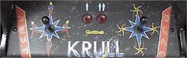 Arcade Control Panel for Krull.