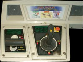 Arcade Control Panel for Landing Gear.