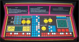 Arcade Control Panel for Lunar Battle.