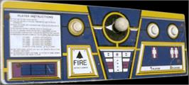 Arcade Control Panel for Lunar Rescue.