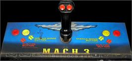Arcade Control Panel for M.A.C.H. 3.