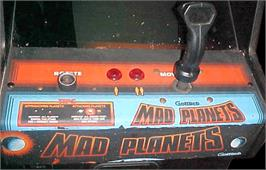 Arcade Control Panel for Mad Planets.