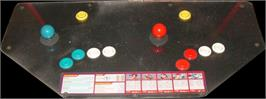 Arcade Control Panel for Martial Masters.