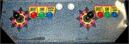 Arcade Control Panel for Mega Man 2: The Power Fighters.