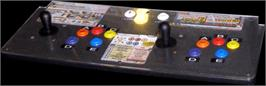 Arcade Control Panel for Metal Slug 6.