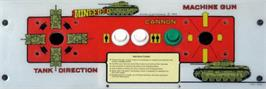 Arcade Control Panel for Minefield.