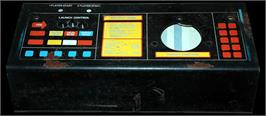 Arcade Control Panel for Missile Command.