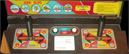 Arcade Control Panel for Missile X / Guided Missile.