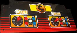 Arcade Control Panel for Mortal Kombat.