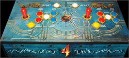 Arcade Control Panel for Mortal Kombat 4.