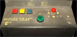 Arcade Control Panel for Mouse Trap.