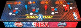Arcade Control Panel for NBA Hangtime.