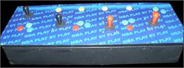 Arcade Control Panel for NBA Play By Play.