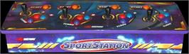 Arcade Control Panel for NBA Showtime / NFL Blitz 2000.