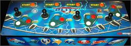 Arcade Control Panel for NFL Blitz '99.