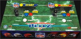 Arcade Control Panel for NFL Blitz.