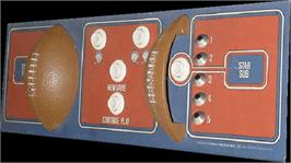 Arcade Control Panel for NFL Football.