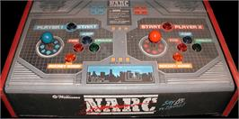 Arcade Control Panel for Narc.