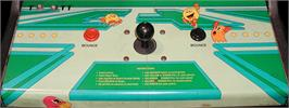 Arcade Control Panel for Pac-Mania.