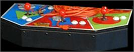 Arcade Control Panel for Pig Out: Dine Like a Swine!.