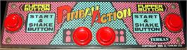 Arcade Control Panel for Pinball Action.