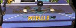 Arcade Control Panel for Pitfall II.
