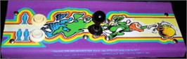 Arcade Control Panel for Pot of Gold.