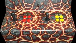 Arcade Control Panel for Primal Rage.